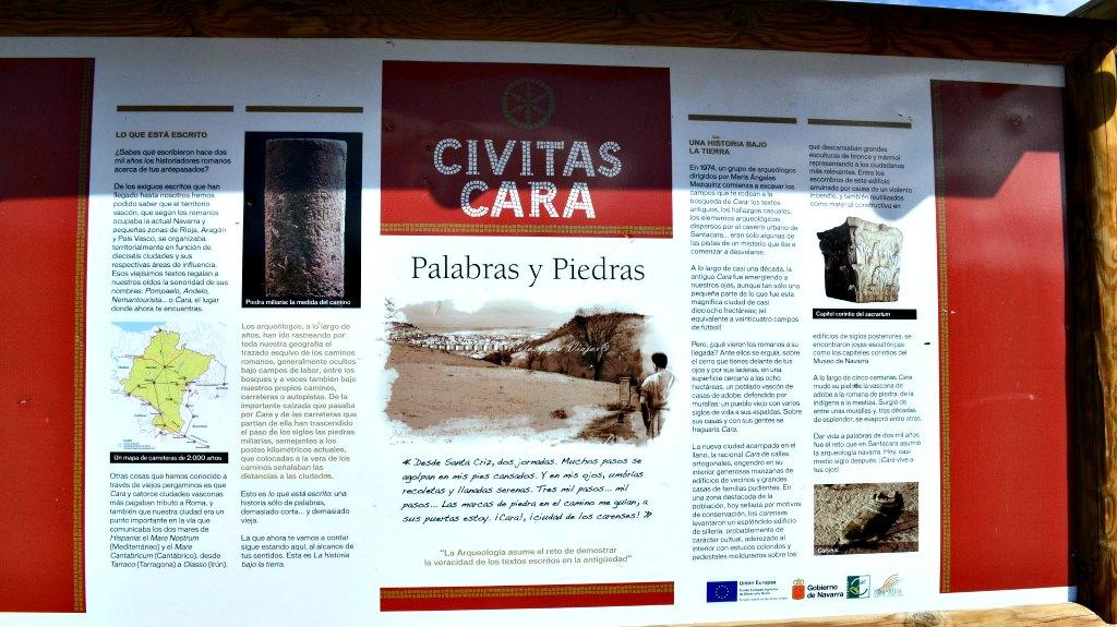 Ciudad romana de Cara, Santacara :: Descubre Navarra, Turismo en Navarra