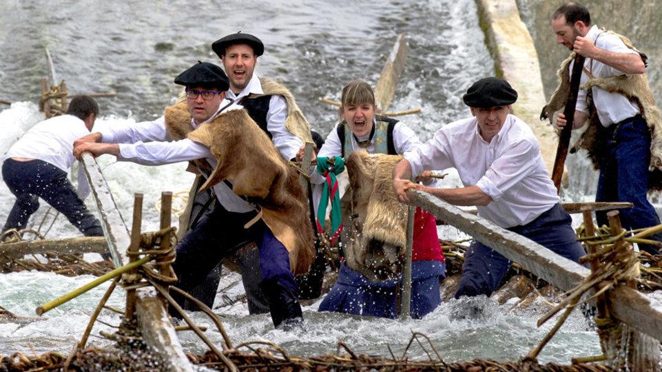 Día de la Almadía, Burgui - Turismo en Navarra