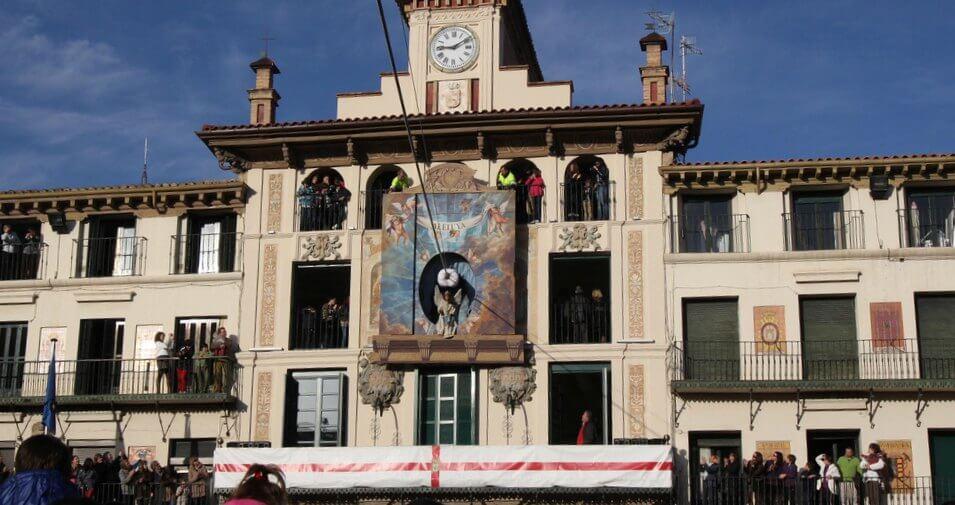 La Bajada del Ángel, Tudela :: Disfruta Navarra, Turismo en Navarra