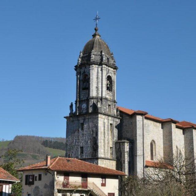 Iglesia de San Martín de Tours de Lesaka